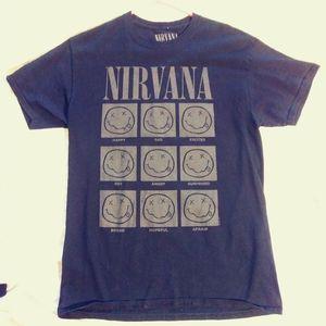 Nirvana band tshirt
